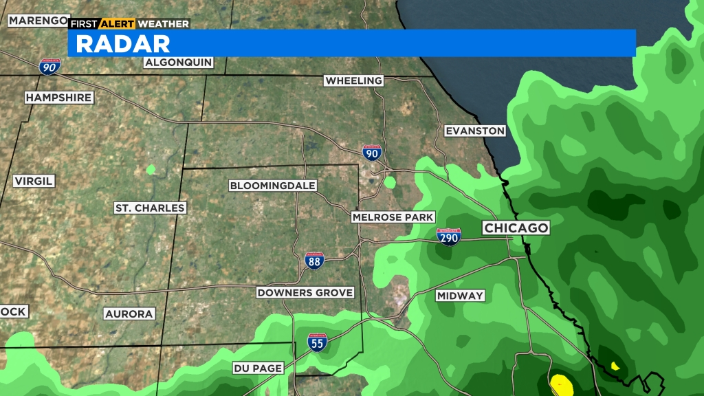Central Burbs Radar Full CBS Chicago Radar, Central Burbs