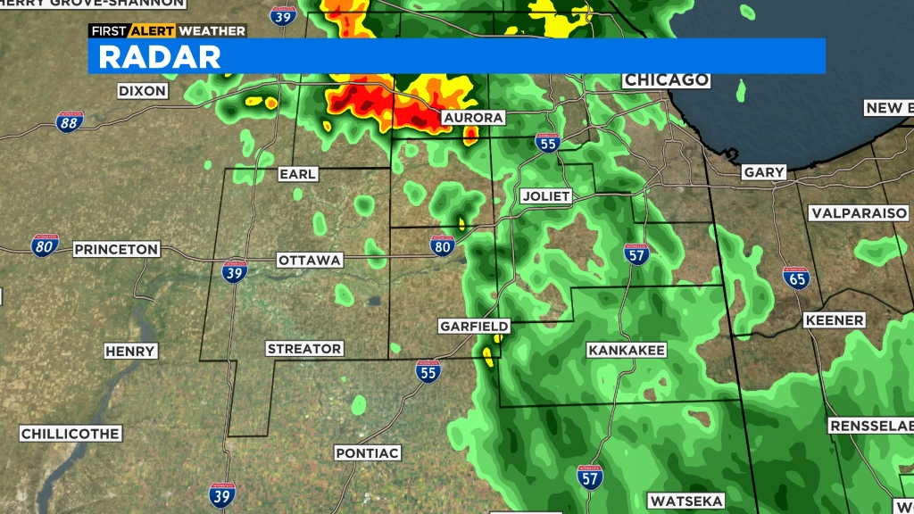 South Burbs Radar Full CBS Chicago Radar, South Burbs