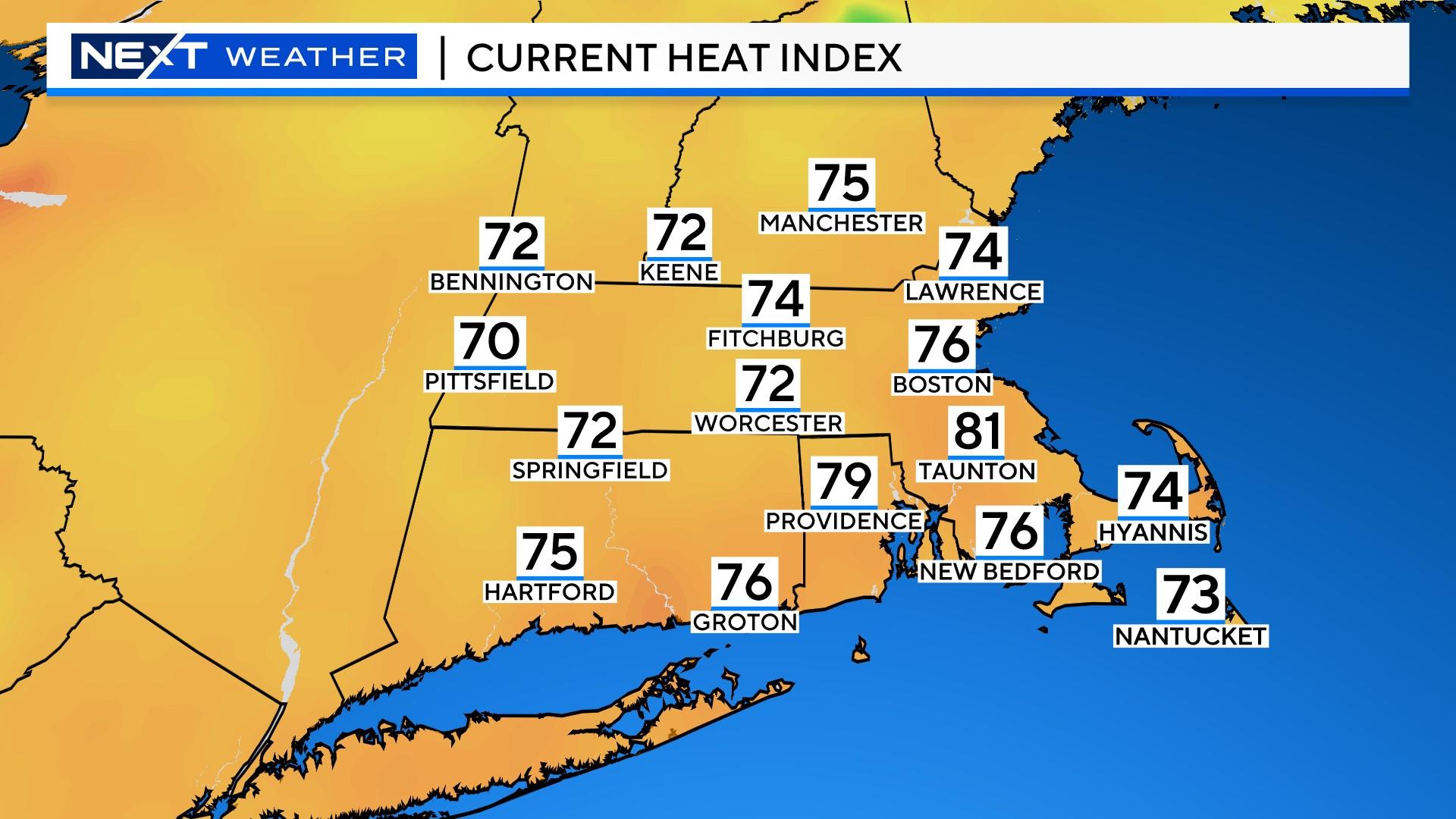 PRISMHeatIndex Heat Index