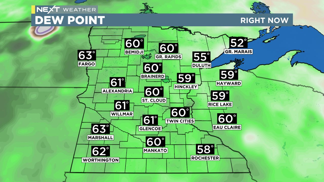 mn dew MN Dew Points
