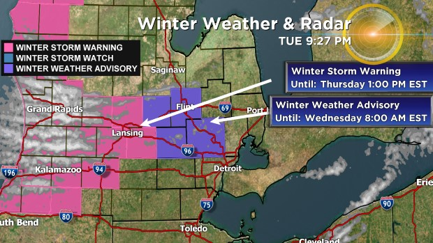 winter weather wwa Winter Weather Alerts